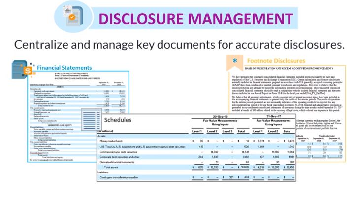 Disclosure management consulting London screenshot