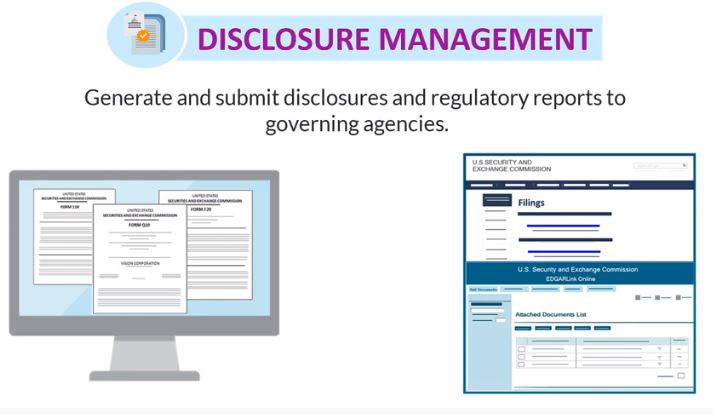 Disclosure management reporting Oracle London Consulting